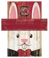"South Carolina Gamecocks 6"" x 5"" Easter Bunny Head"