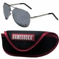 South Carolina Gamecocks Aviator Sunglasses and Sports Case
