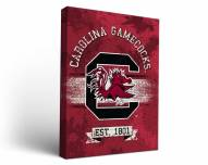 South Carolina Gamecocks Banner Canvas Wall Art