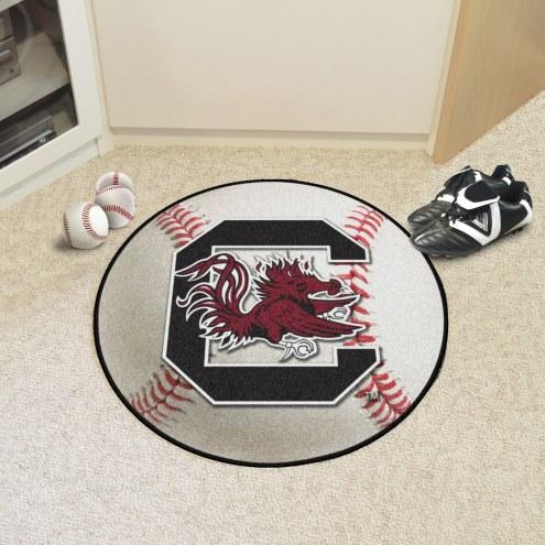 South Carolina Gamecocks Baseball Rug