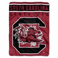 South Carolina Gamecocks Basic Plush Raschel Blanket