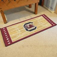 South Carolina Gamecocks Basketball Court Runner Rug