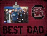 South Carolina Gamecocks Best Dad Clip Frame