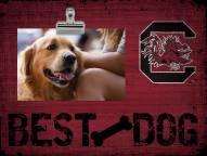 South Carolina Gamecocks Best Dog Clip Frame