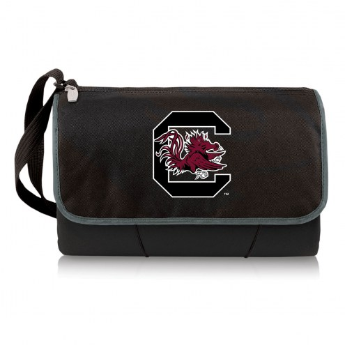 South Carolina Gamecocks Black Blanket Tote