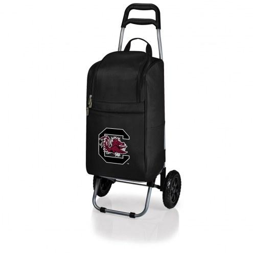 South Carolina Gamecocks Black Cart Cooler