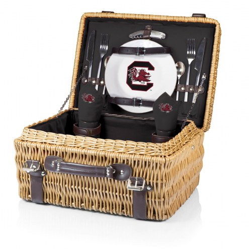 South Carolina Gamecocks Black Champion Picnic Basket