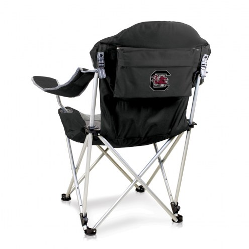 South Carolina Gamecocks Black Reclining Camp Chair