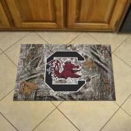 South Carolina Gamecocks Camo Scraper Door Mat