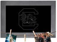 South Carolina Gamecocks Chalkboard with Frame