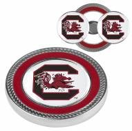 South Carolina Gamecocks Challenge Coin with 2 Ball Markers