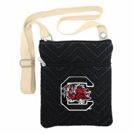 South Carolina Gamecocks Chevron Stitch Crossbody Bag