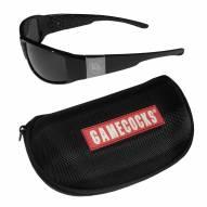 South Carolina Gamecocks Chrome Wrap Sunglasses & Zippered Carrying Case