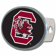 South Carolina Gamecocks Class II and III Oval Metal Hitch Cover