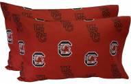 South Carolina Gamecocks Printed Pillowcase Set