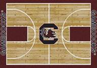South Carolina Gamecocks College Home Court Area Rug