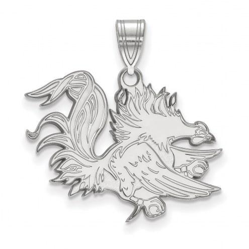 South Carolina Gamecocks Sterling Silver Large Pendant