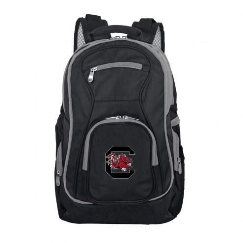 NCAA South Carolina Fighting Gamecocks Colored Trim Premium Laptop Backpack