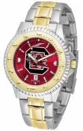 South Carolina Gamecocks Competitor Two-Tone AnoChrome Men's Watch
