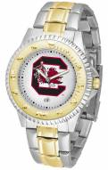 South Carolina Gamecocks Competitor Two-Tone Men's Watch