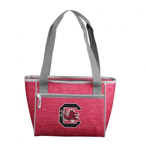 South Carolina Gamecocks Crosshatch 16 Can Cooler Tote