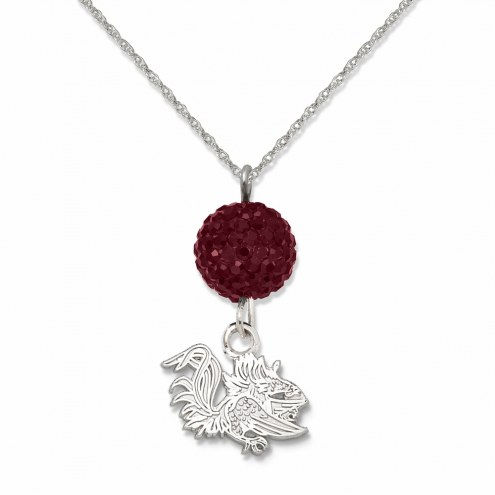 South Carolina Gamecocks Crystal Ovation Necklace