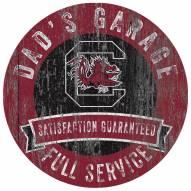 South Carolina Gamecocks Dad's Garage Sign