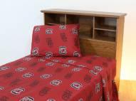 South Carolina Gamecocks Dark Bed Sheets