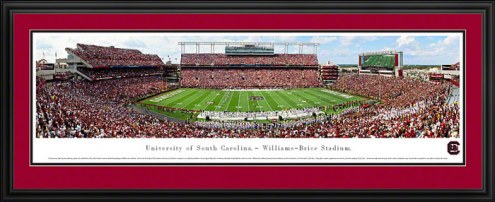 South Carolina Gamecocks Deluxe Framed Panorama