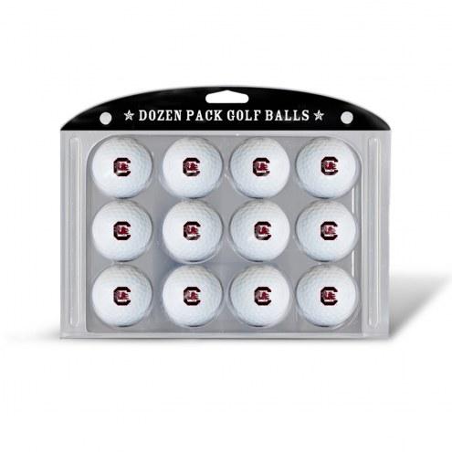 South Carolina Gamecocks Dozen Golf Balls