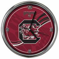 South Carolina Gamecocks Dynamic Chrome Clock