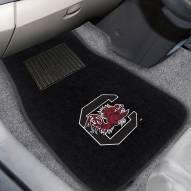 South Carolina Gamecocks Embroidered Car Mats