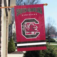 South Carolina Gamecocks NCAA Embroidered / Applique College Flag Banner