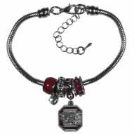 South Carolina Gamecocks Euro Bead Bracelet