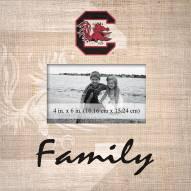 South Carolina Gamecocks Family Picture Frame