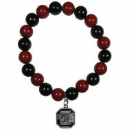 South Carolina Gamecocks Fan Bead Bracelet