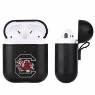 South Carolina Gamecocks Fan Brander Apple Air Pods Leather Case