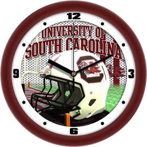 South Carolina Gamecocks Football Helmet Wall Clock