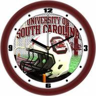 South Carolina Gamecocks Football Helmet Wall Clock