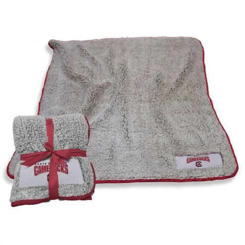 South Carolina Gamecocks Frosty Fleece Blanket