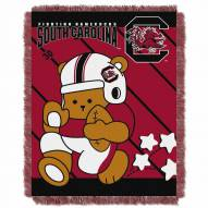 South Carolina Gamecocks Fullback Baby Blanket