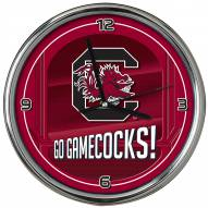 South Carolina Gamecocks Go Team Chrome Clock
