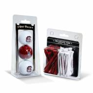 South Carolina Gamecocks Golf Ball & Tee Pack