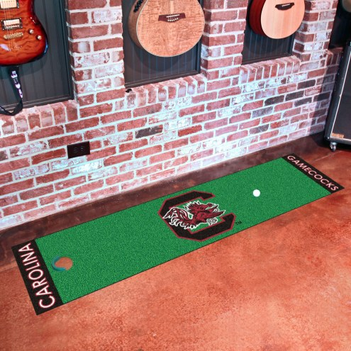 South Carolina Gamecocks Golf Putting Green Mat
