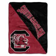 South Carolina Gamecocks Halftone Raschel Blanket