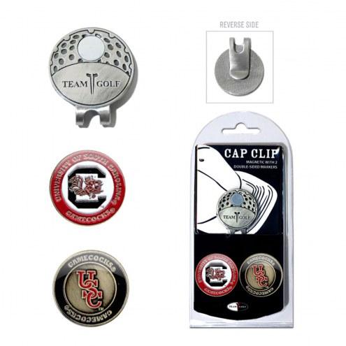 South Carolina Gamecocks Hat Clip & Marker Set