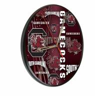 South Carolina Gamecocks Digitally Printed Wood Clock
