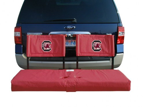 South Carolina Gamecocks Tailgate Hitch Seat/Cargo Carrier