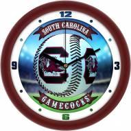 South Carolina Gamecocks Home Run Wall Clock