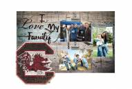 South Carolina Gamecocks I Love My Family Clip Frame